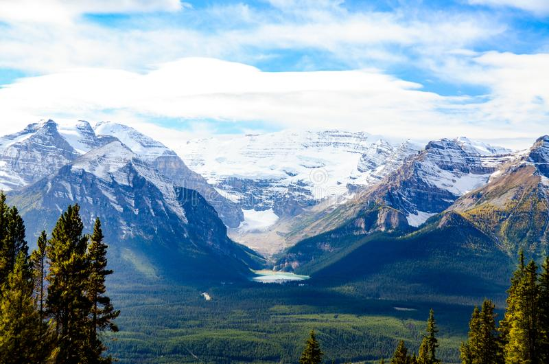 Lake Louise, Canadian Rockies. Alberta,Canada royalty free stock image