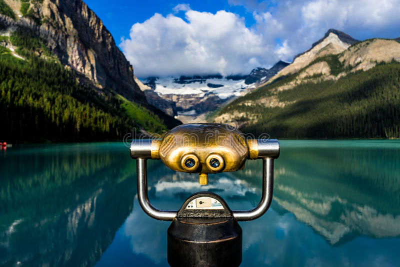 Lake Louise. Enjoy the beautiful view of Lake Louise in Alberta, Canada stock photos