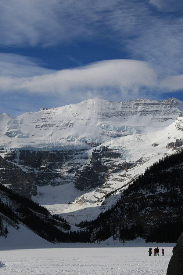 Lake Louise, Kanada lizenzfreie stockfotos