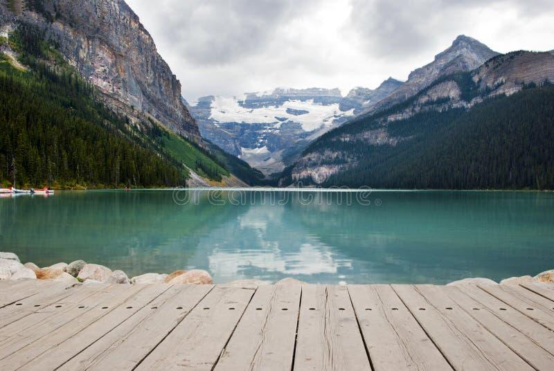 Lake Louise. Scenic View of Lake Louise, Banff National Park, Alberta ,Canada stock photos