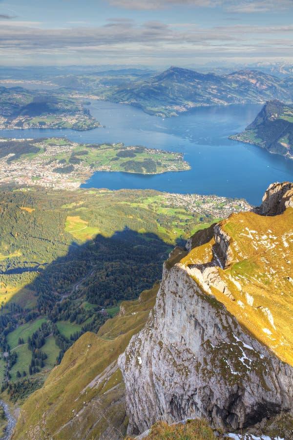 Download Lake Lucerne Mountain View , Royalty Free Stock Image - Image: 18823426