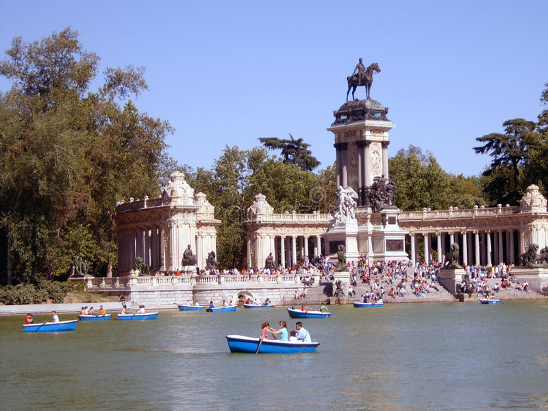 A Lake in Madrid