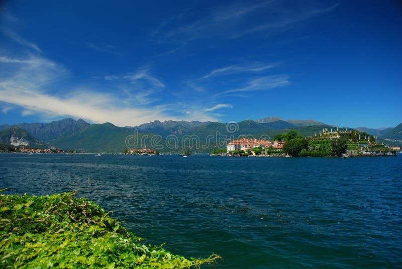 Lake Maggiore, Isola Bella. The baroque gardens of Isola Bella, Lake Maggiore, Italy royalty free stock photos