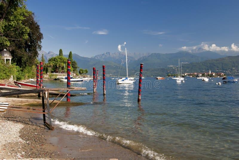 Download Lake Maggiore Shoreline, Stressa, Italy Royalty Free Stock Photo - Image: 18985325