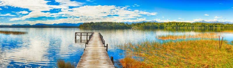 Lake Mahinapua Royalty Free Stock Photos