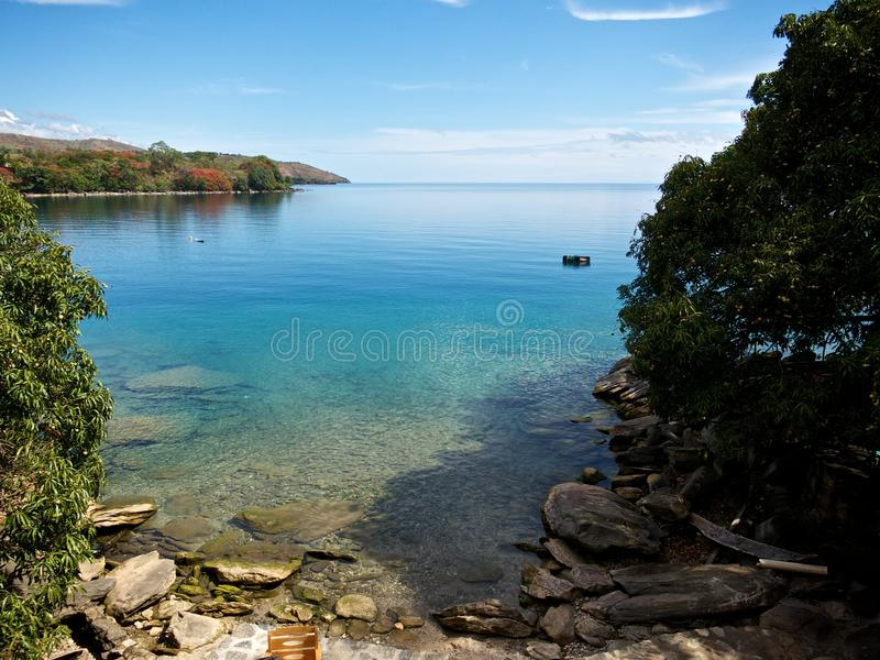 lake malawi royaltyfria bilder