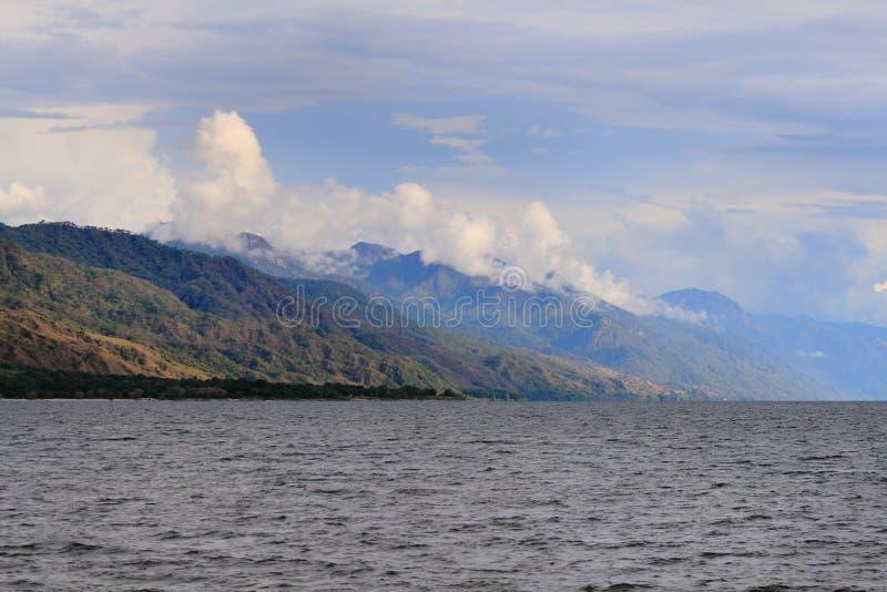 Lake Malawi (laken Nyasa) royaltyfria foton