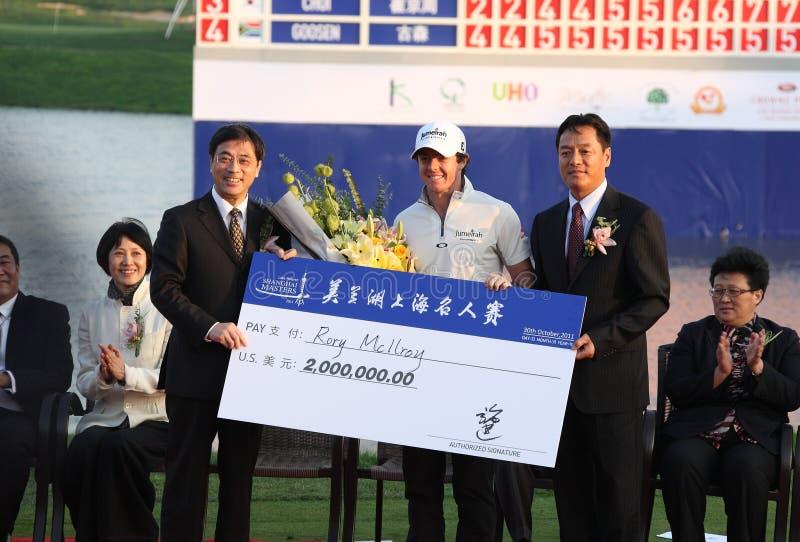 Lake maleren shanghai masters 2011 royalty free stock photos