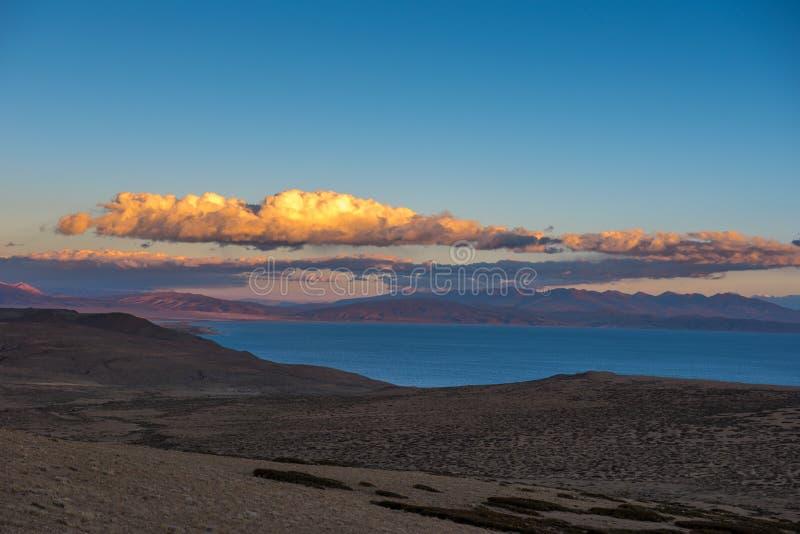 Lake Manasarovar: Travelling in Tibet royalty free stock images