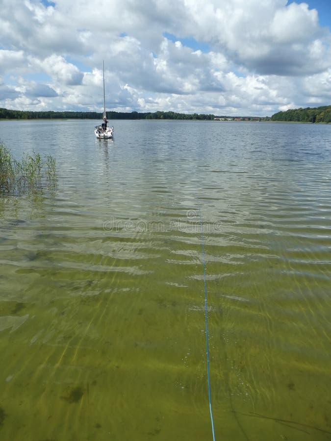 Lake in Masuria royalty free stock images