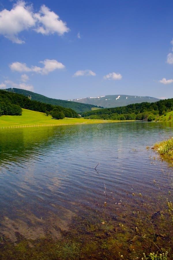 Lake Mavrovo stock images