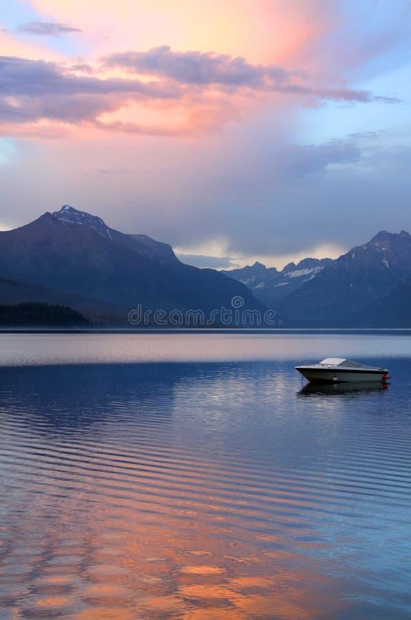 Download Lake McDonald stock image. Image of mountains, woods - 15150301