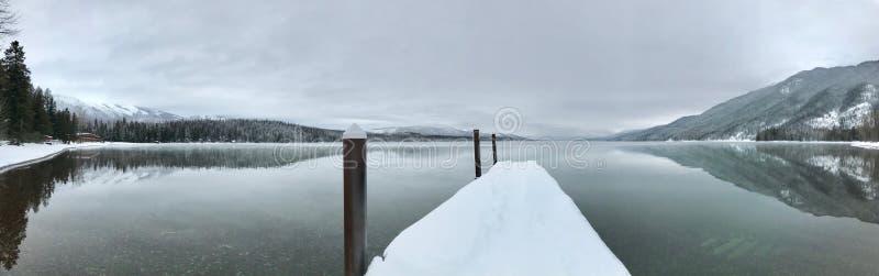 Lake McDonald at Glacier National Park royalty free stock photography