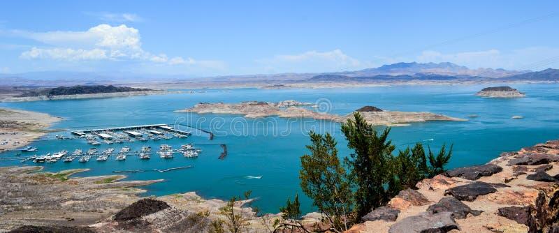 Lake Mead - Boulder-Stadt lizenzfreie stockfotografie