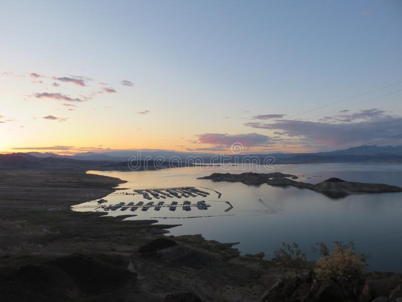 Lake Mead stock image