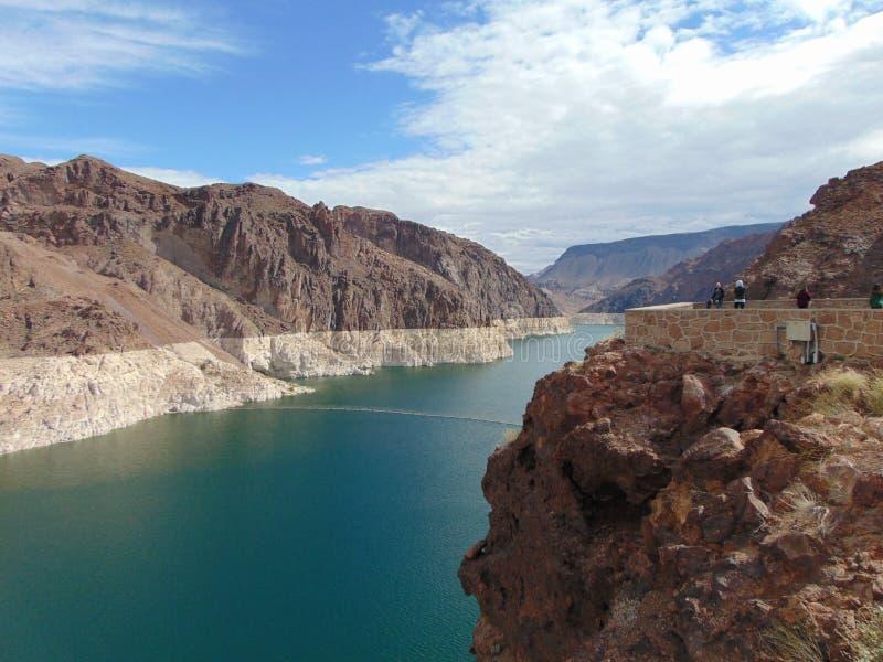 Lake Mead - USA stockfotografie