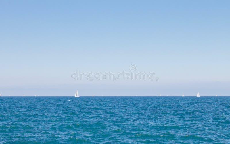 Download Lake Michigan stock photo. Image of lake, sail, nature - 76275776