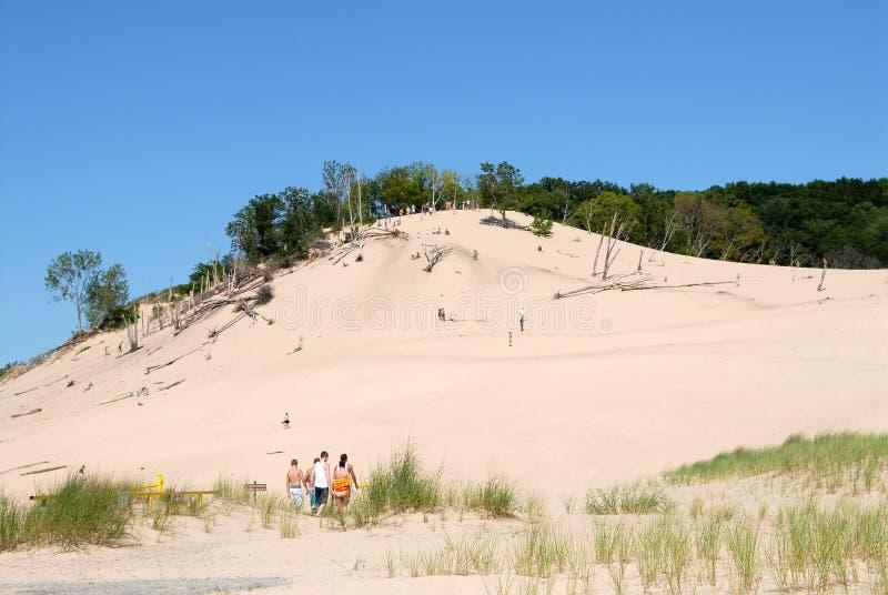 Lake Michigan Dunes royalty free stock images
