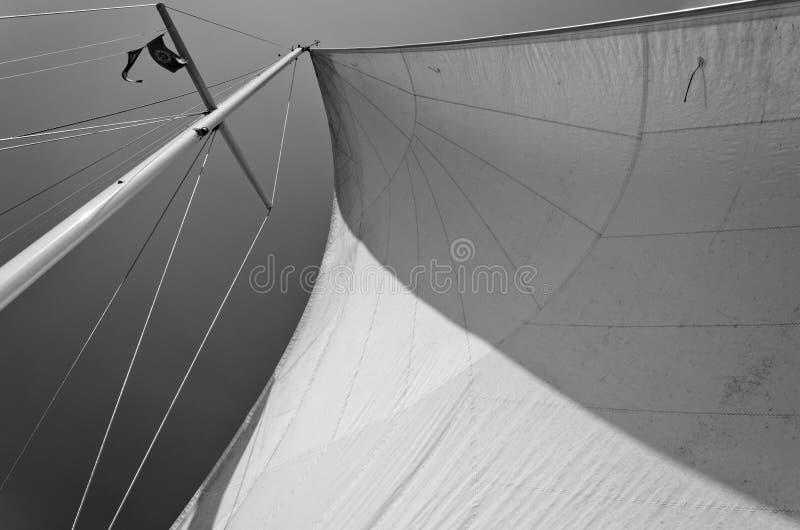 Lake Michigan Sail royalty free stock photography