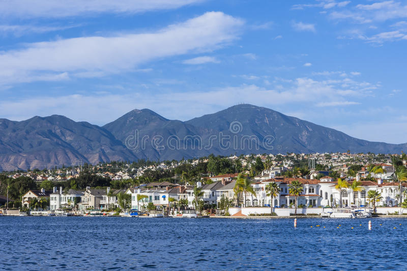 Lake mission viejo royalty free stock photography