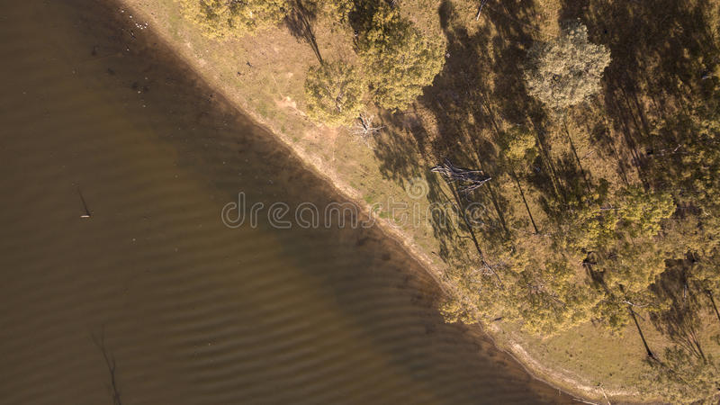 Lake Moogerah in Queensland. Lake Moogerah on the Scenic Rim in Queensland during the day stock image