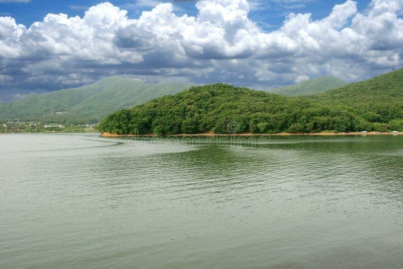 Lake Mountain stock image