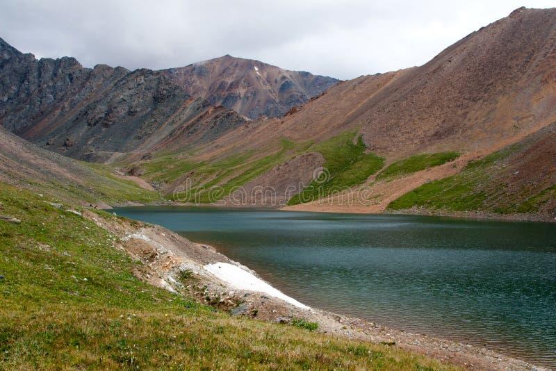 Lake of Mountain Spirits. Altai. Siberia. Russia. Summer royalty free stock photo