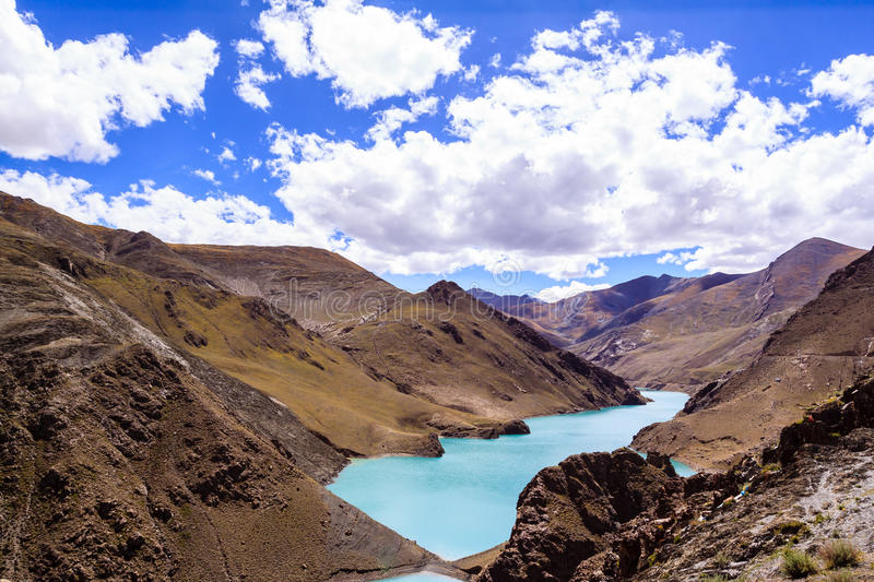 Download Lake with mountain stock photo. Image of blue, geological - 34338064