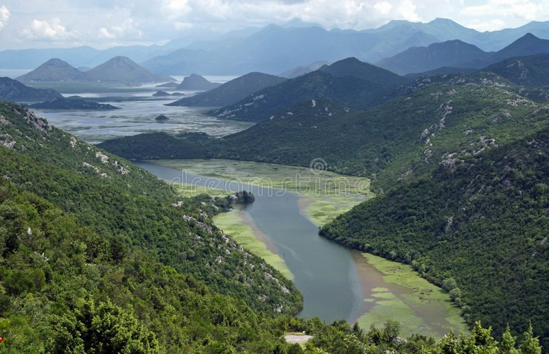 Download Lake between mountains stock image. Image of nature, water - 873513