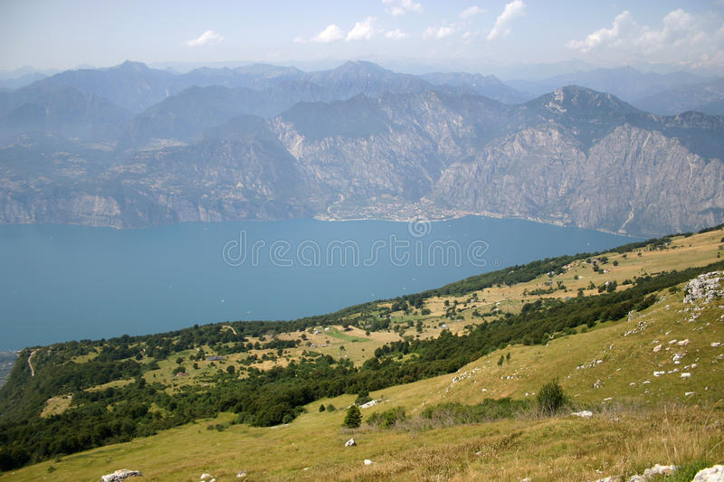Download Lake and mountains stock image. Image of large, high - 94637277