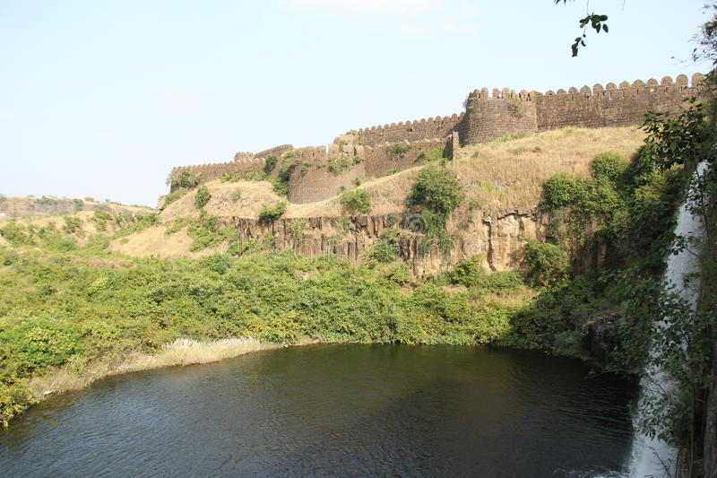 Lake of Nalgurg Fort stock image