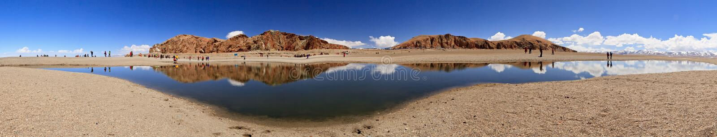 Download Lake in Nam Co, Tibet stock image. Image of landscape - 24651347
