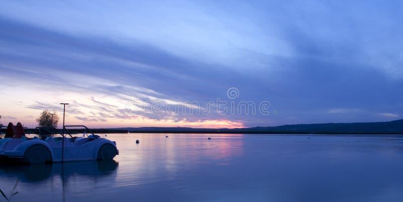 Lake By Night Stock Photo