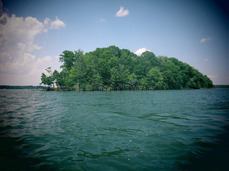 Download Lake Norman Island stock photo. Image of shore, scenic - 41139306
