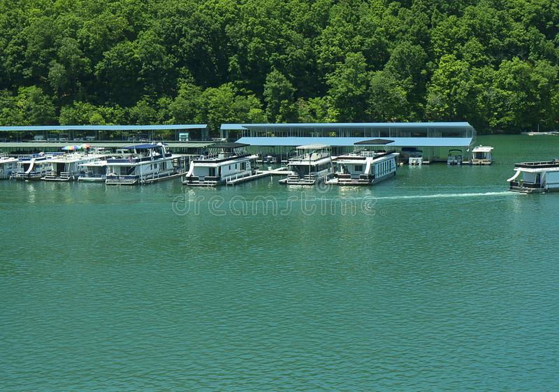Lake Norris formed by the Norris Dam on the River Clinch in the Tennessee Valley USA. Norris Dam is a hydroelectric and flood control structure located on the stock images