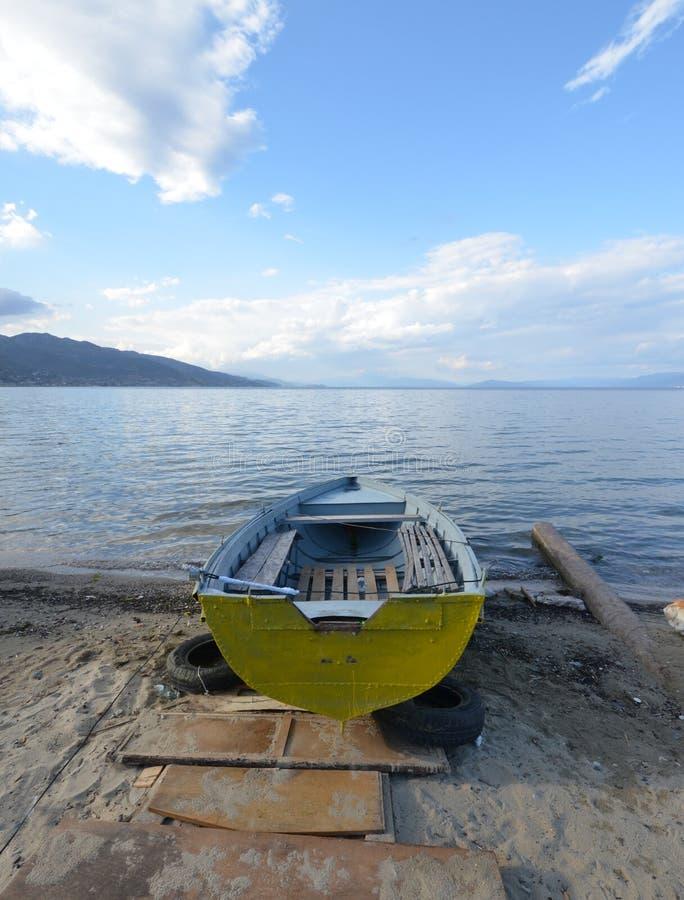 Free Lake Ohrid, Wiew From Pogradeci, Albania Royalty Free Stock Photos - 43590088