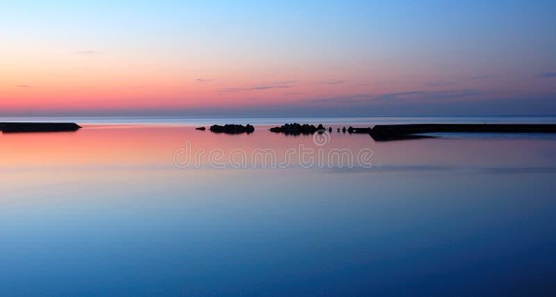 Download Lake Ontario at Dawn stock image. Image of purple, still - 10038275