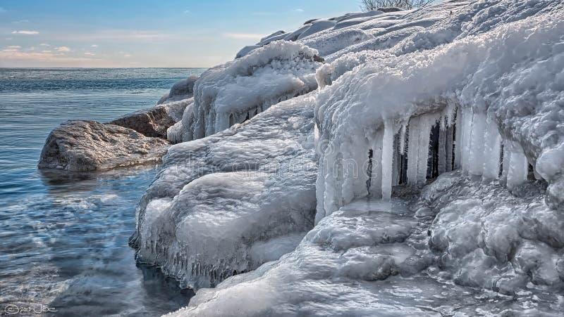 Lake Ontario, Jack Darling Park, Mississauga stock photos