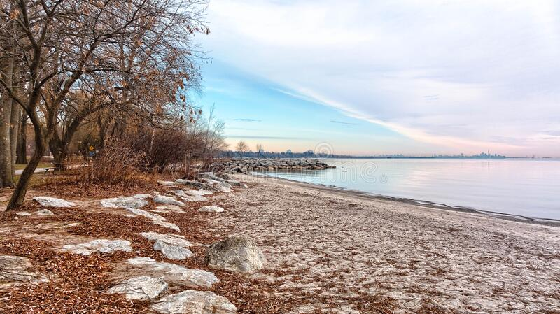 Lake Ontario Shoreline royalty free stock photos