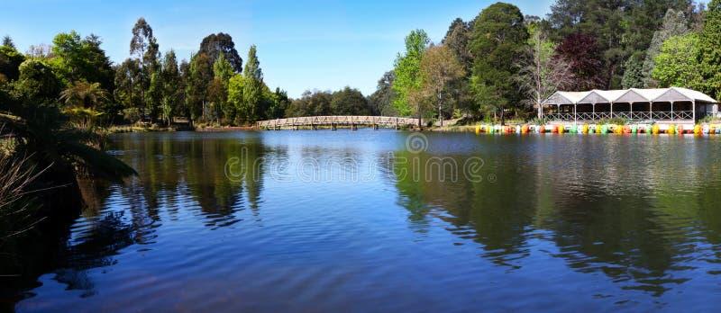 Lake Panorama Royalty Free Stock Photos