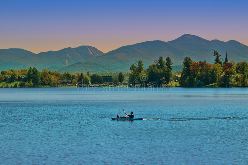Lake Placid, New York fotografia de stock