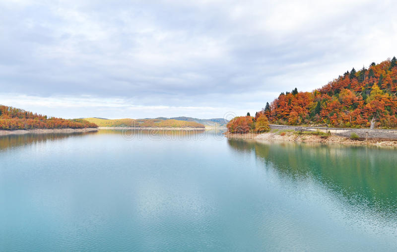 Lake Plastiras Thessaly Greece stock image