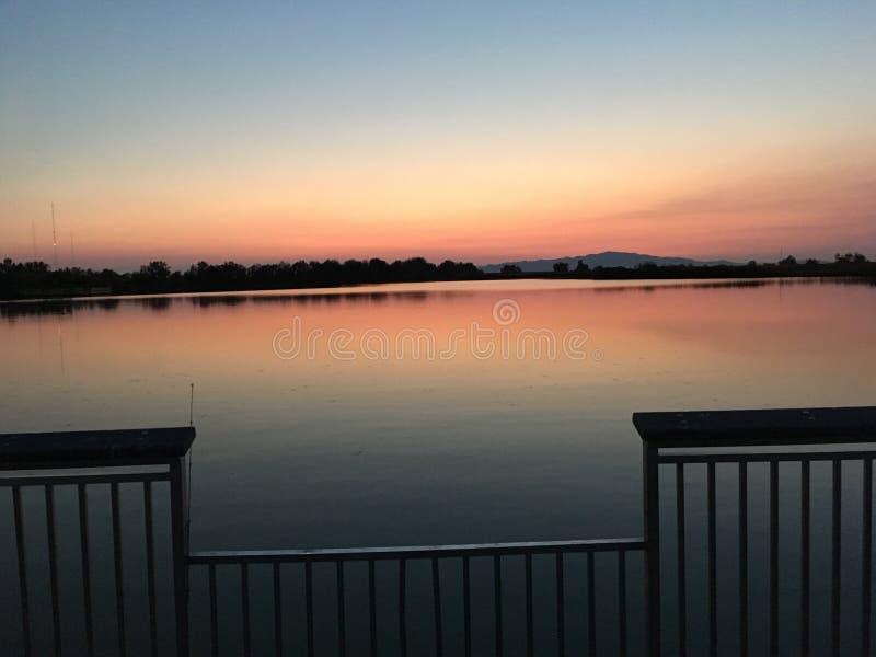 Bountiful pond royalty free stock image