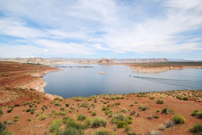 Lake Powell royaltyfria bilder