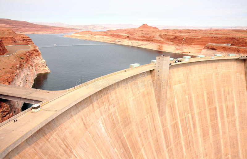 Download Lake Powell Dam stock image. Image of highway, erosion - 16795825
