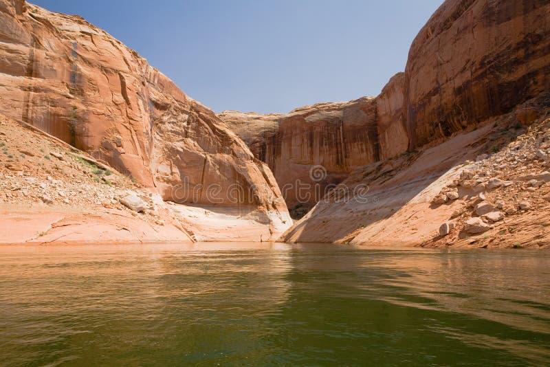 Lake Powell and Glen Canyon stock image