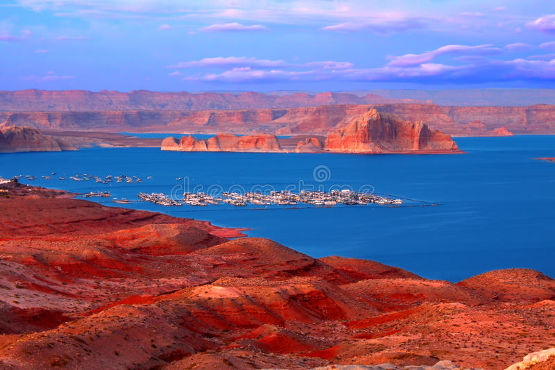 Download Lake Powell At Twilight Royalty Free Stock Photo - Image: 34347675