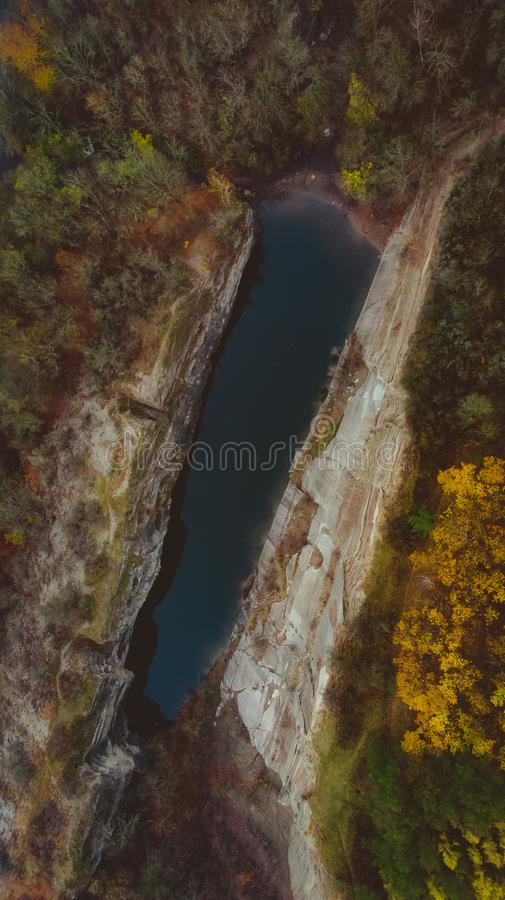 Lake In Prokop Valley royalty free stock images
