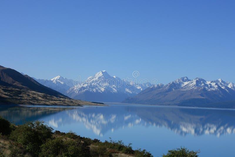 Lake Pukaki, New Zealand royalty free stock photo