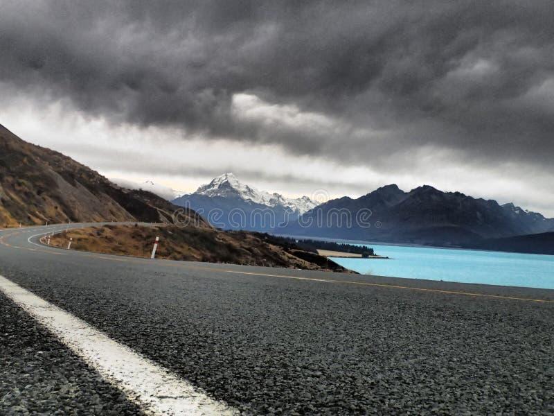 Lake Pukaki royalty free stock photo